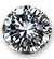 1 mm-es Brilliant Diamond (Top Wesselton (G), VS1, 0.006 ct)